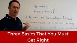 Strategic Execution