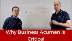 Business Acumen is Critical
