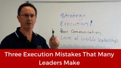 Execution Mistakes